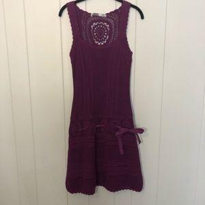 Athleta Crochet Medallion Falcon Dress